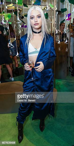 Alice Chater attends the Sunday Times Styles Fashion Special party during London Fashion Week Spring/Summer collections 2017 at L'Eden by...