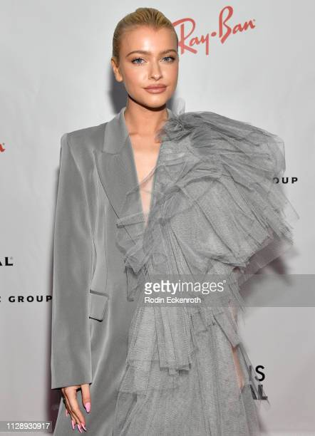 Alice Chater attends the Universal Music Group's 2019 After Party To Celebrate The GRAMMYs at ROW DTLA on February 10 2019 in Los Angeles California
