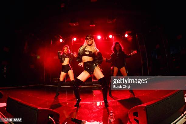 Alice Chater performs on stage at Scala on October 11 2018 in London England