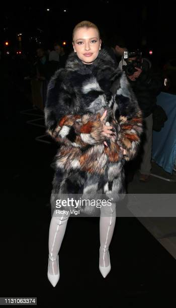 Alice Chater seen attending the Universal Music BRITS 2019 After Party at Soho House City Hotel on February 20 2019 in London England