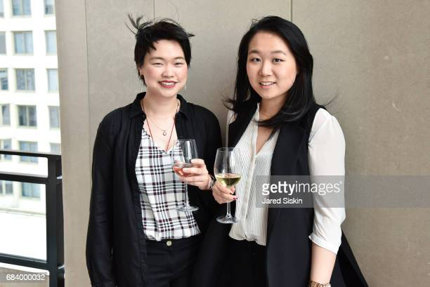 Alice Chen and Lulu Guo attend AVENUE Celebrates Petra Nemcova's April/May Cover and their Philanthropy Issue and the Announcement of the AVENUE...