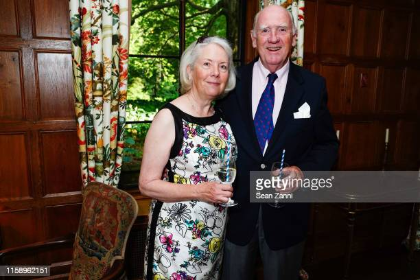 Alice Concagh and Kevin Concagh attend A Country House Gathering To Benefit Preservation Long Island on June 28 2019 in Locust Valley New York