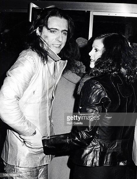 Alice Cooper and Cindy Lange during 'Judge Roy Bean' New York Premiere at Criterion Theater in New York City New York United States