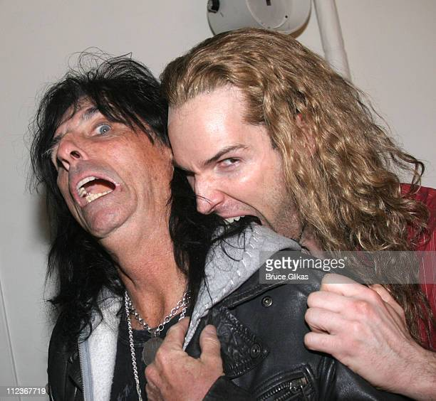 Alice Cooper and Hugh Panaro as 'Lestat'