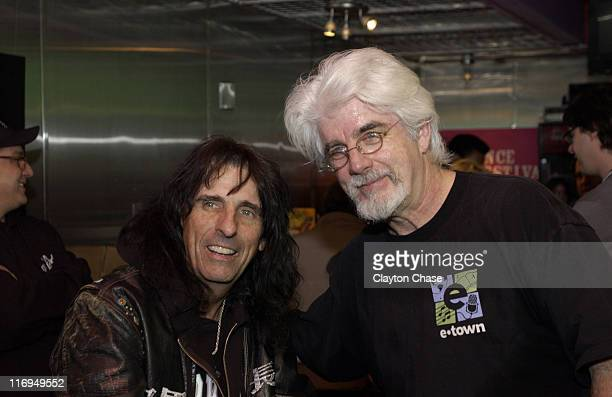 Alice Cooper and Michael McDonald during 2005 Sundance Film Festival ASCAP Music Cafe with Linda Perry Billy Currington Peter Cincotti Nellie McKay...