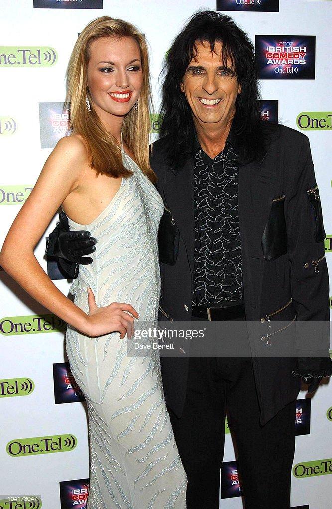 Alice Cooper And Rosanna Davison, British Comedy Awards At Lwt Studios In London, Pressroom