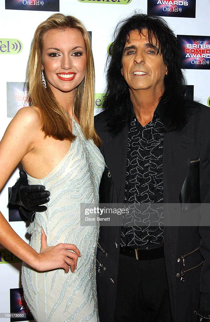 Alice Cooper And Rosanna Davison, British Comedy Awards At Lwt Studios In London, Pressroom
