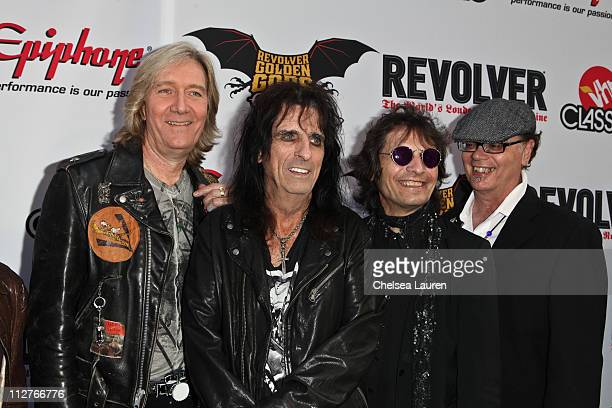 Alice Cooper arrives at the 3rd Annual Revolver Golden God Awards at Club Nokia on April 20 2011 in Los Angeles California