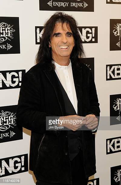 Alice Cooper arrives for The Relentless Energy Drink Kerrang Awards at The Brewery on June 9 2011 in London England