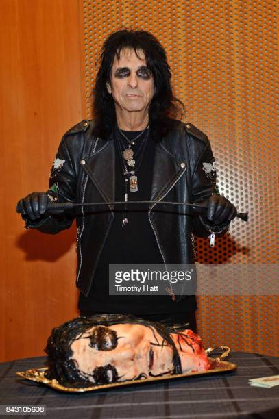 Alice Cooper attends and introduces a special screening of Wayne's World at Jay Pritzker Pavillion on September 5 2017 in Chicago Illinois