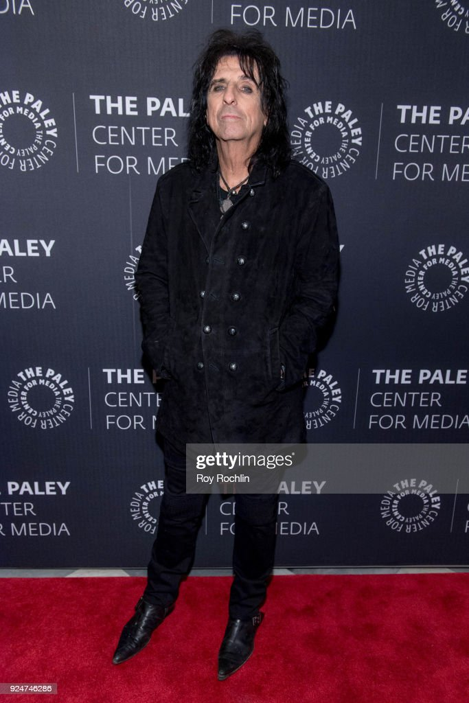 Alice Cooper attends The Paley Center for Media presents: Behind The Scenes: Jesus Christ Superstar Live In Concert at The Paley Center for Media on February 26, 2018 in New York City.