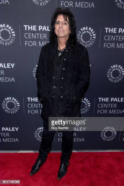 Alice Cooper attends The Paley Center for Media presents Behind The Scenes Jesus Christ Superstar Live In Concert at The Paley Center for Media on...