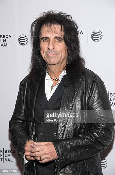Alice Cooper attends the Super Duper Alice Cooper premiere during the 2014 Tribeca Film Festival at Chelsea Bow Tie Cinemas on April 17 2014 in New...