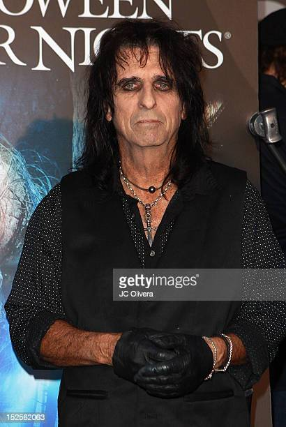 Alice Cooper attends Universal Studios Hollywood 'Halloween Horror Nights' Eyegore Awards at Universal Studios Hollywood on September 21 2012 in...