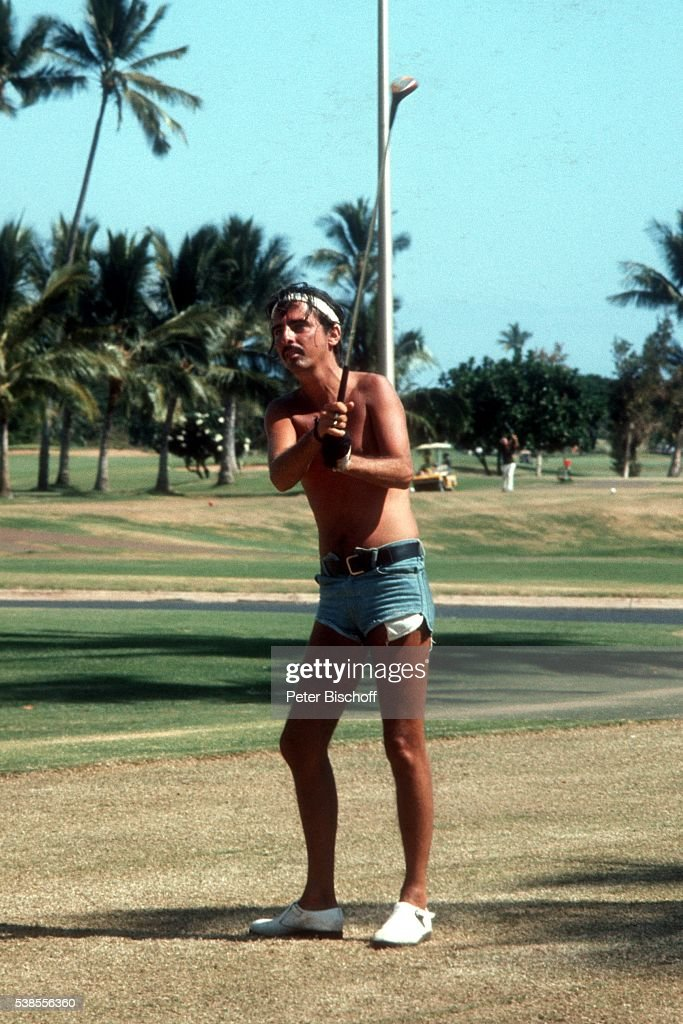 Alice Cooper im Urlaub auf Maui, Hawaii : News Photo