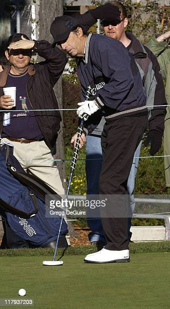 Alice Cooper during 2002 AT&T Pebble Beach National Pro-Am, Round 1 at Poppy Hills in Carmel, California, United States.