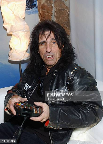 Alice Cooper during 2005 Park City Levi's Ranch at Levi's House in Park City Utah United States