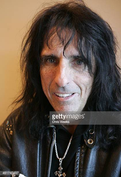 Alice Cooper during 2005 Park City The Activision House Benefiting St Jude Children's Research Hospital at 262 Grant Avenue in Park City Utah United...