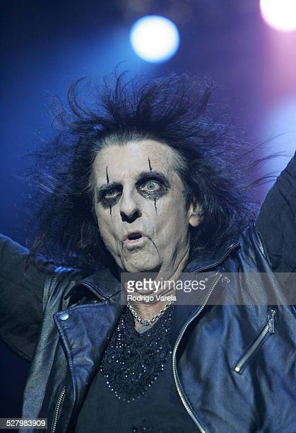 Alice Cooper during Alice Cooper in Concert at Hard Rock Live in Hollywood Florida September 27 2005 at Hard Rock Live at Seminole Hard Rock Hotel...