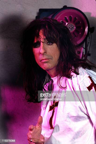 Alice Cooper during Alice Cooper Photo Session at Pheonix in Pheonix Arizona United States