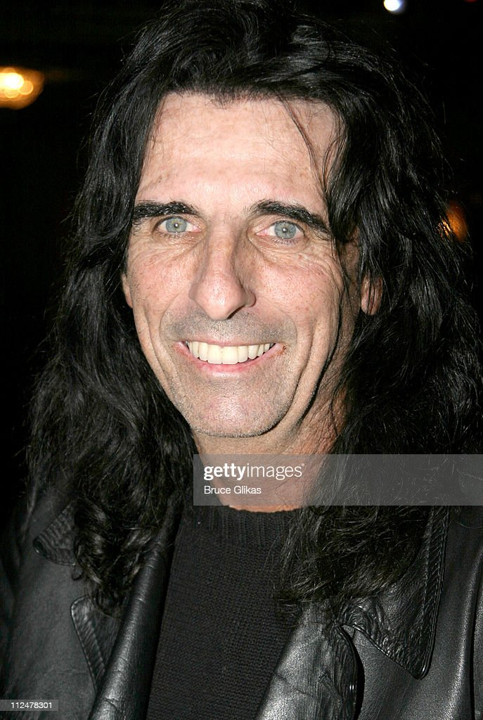 "Alice Cooper Visits Harvey Fierstein Backstage at ""Hairspray"""