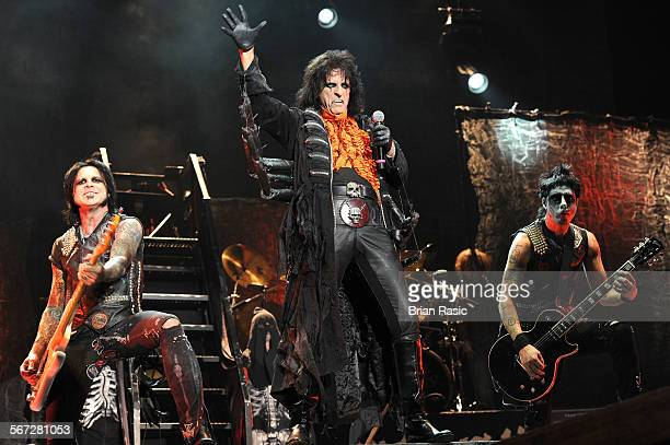 Alice Cooper In Concert At Alexandra Palace London Britain 29 Oct 2011 Alice Cooper
