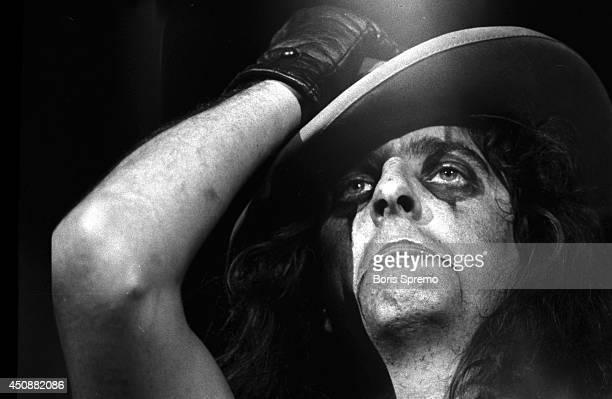 Alice Cooper in concert at Varsity Stadium taken by Boris Spremo September 2 1972