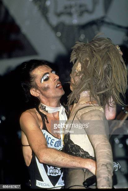 Alice Cooper in concert circa 1981 in New York City