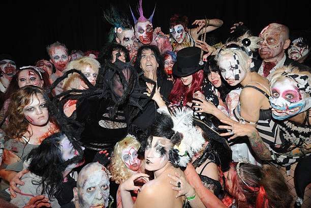 alice cooper in concert on halloween the roundhouse london britain 31 oct