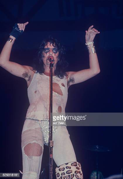 Alice Cooper in performance circa 1970 New York