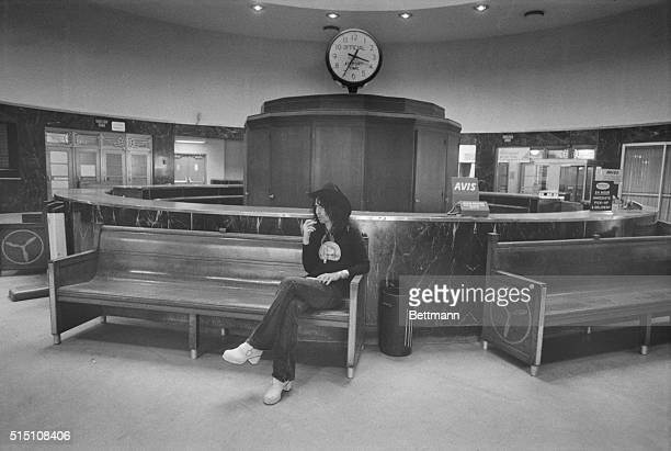 Alice Cooper. New York: There are lonely times for big rock stars too, especially on the road in the dead of the night. Alice Cooper is alone...