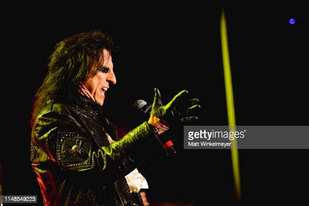 Alice Cooper of The Hollywood Vampires performs at The Greek Theatre on May 11 2019 in Los Angeles California