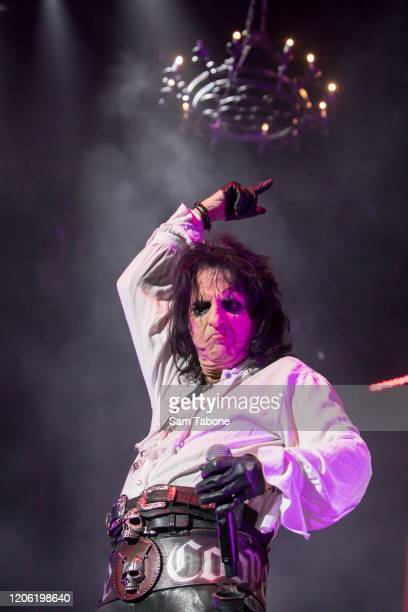 Alice Cooper performs at Rod Laver Arena on February 14 2020 in Melbourne Australia