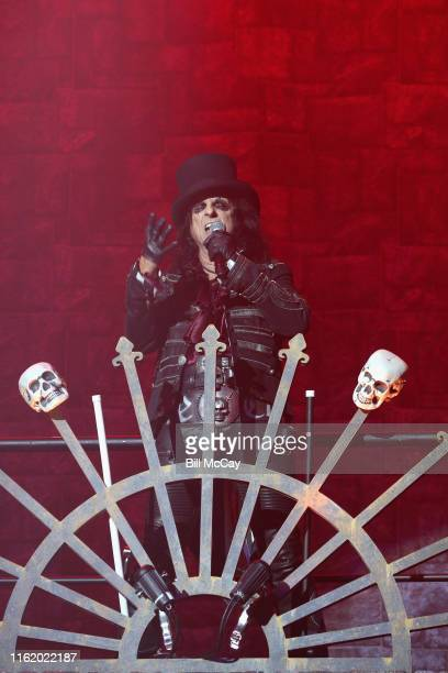 Alice Cooper performs at the BBT Pavilion August 16 2019 in Camden New Jersey