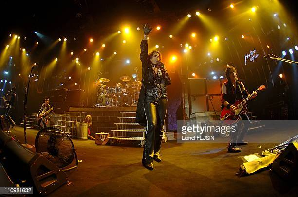 Alice Cooper performs at the Montreux Jazz Festival in Montreux Switzerland on July 12th 2005