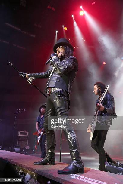 Alice Cooper performs in concert at the HEB Center on July 29 2019 in Cedar Park Texas