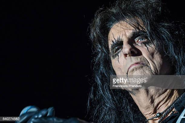 Alice Cooper performs in Milan on June 14 2016 in Milan Italy