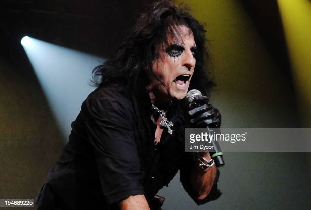 Alice Cooper performs live on stage during the 'Halloween Night Of Fear' Tour at Wembley Arena on October 28 2012 in London United Kingdom