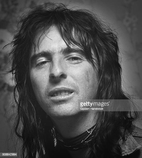 Alice Cooper portrait Amsterdam Netherlands 1972