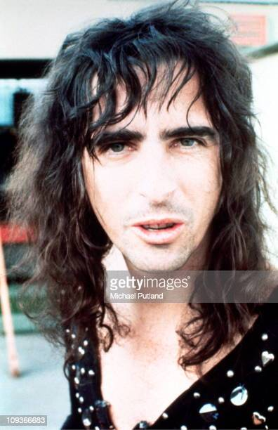 Alice Cooper portrait London 1972