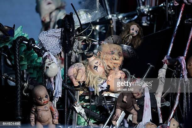 Alice Cooper 'Theatre Of Death' TourAlice Coopers Band besteht aus Ryan Roxie Nita Strauss Chuck Garric Tommy Henriksen und Glen Sobel auf dem...