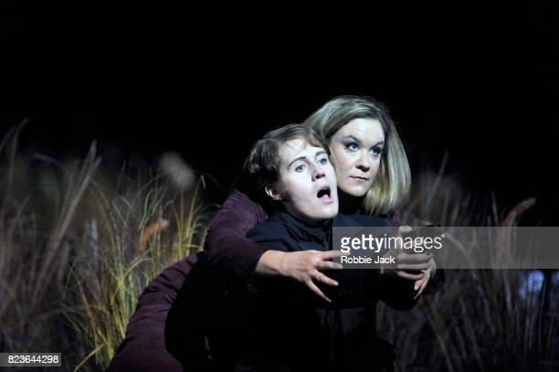 Alice Coote as Vitellia and Anna Stephany as Sesto in Wolfgang Amadeus Mozart's La clemenza di Tito directed by Claus Guth and conducted by Robin...