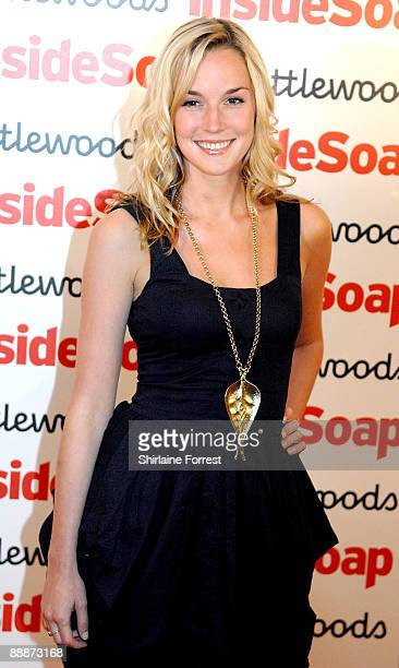 Alice Coulthard of Emmerdale attends the Inside Soap Awards Launch Party at Great John Street hotel on July 6 2009 in Manchester England