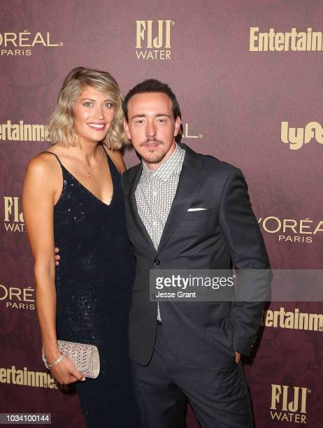 Alice Coy and Chris Coy attend FIJI Water at Entertainment Weekly PreEmmy Party on September 15 2018 in Los Angeles California