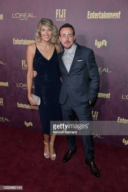 Alice Coy and Chris Coy attend the 2018 PreEmmy Party hosted by Entertainment Weekly and L'Oreal Paris at Sunset Tower on September 15 2018 in Los...