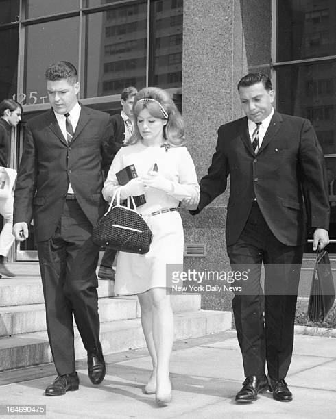 Alice Crimmins leave Queens court with husband Edmund Tom Gallagher/NY Daily News via Getty Images