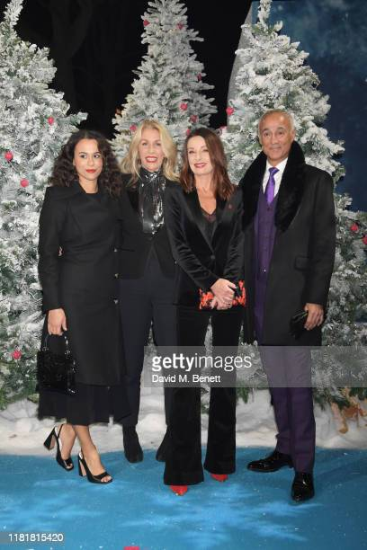 Alice DallinWalker Sara Dallin Keren Woodward and Andrew Ridgeley attend the UK Premiere of Last Christmas at the BFI Southbank on November 11 2019...