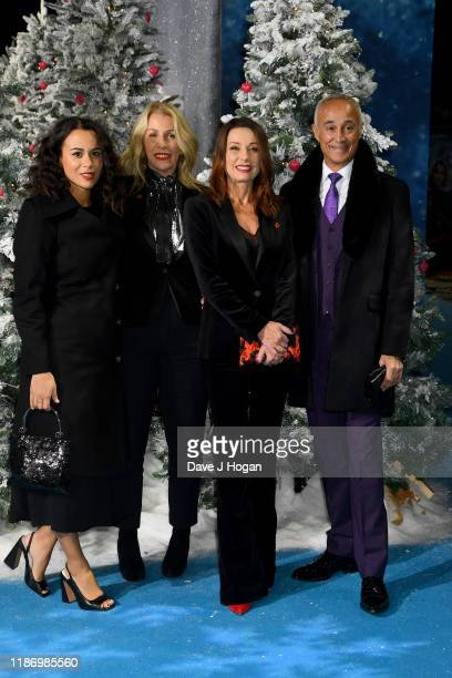 Alice DallinWalker Sara Dallin Keren Woodward and Andrew Ridgeley attend the Last Christmas UK Premiere at BFI Southbank on November 11 2019 in...