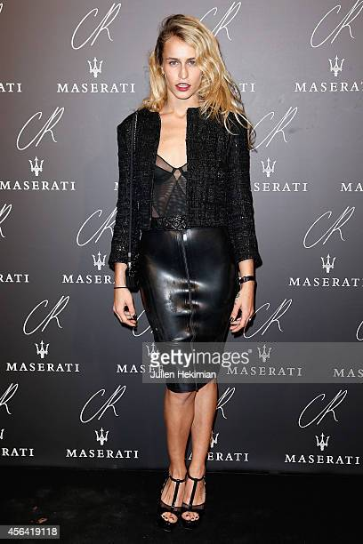 Alice Dellal attends CR Fashion Book Issue N°5 Launch Party as part of the Paris Fashion Week Womenswear Spring/Summer 2015 on September 30 2014 in...
