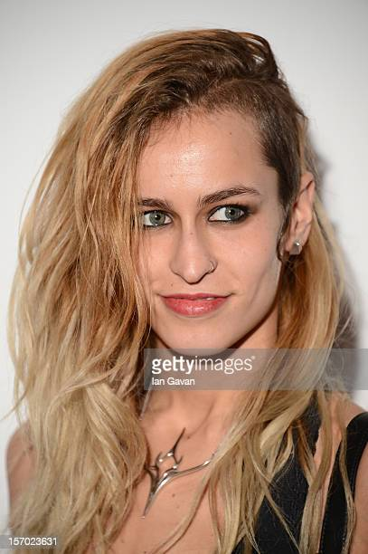 Alice Dellal attends the British Fashion Awards 2012 at The Savoy Hotel on November 27 2012 in London England